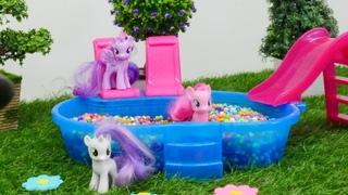 My Little Pony auf Deutsch - Spielzeugvideo für Kinder - 2 Folgen am Stück