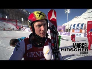 Val d'Isere Giant Slalom, Behind Trainings and Competition - AUDI FIS Alpine Ski World Cup 2012