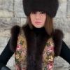 Дизайнерские меховые жилетки от Ульяны Смирновой