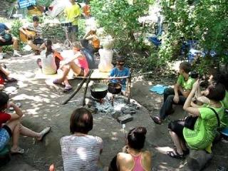 Детский лагерь возле Каховского моря / Camp near Kahov sea