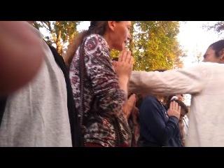 Дхуни Прана Пратиста (возжигание священного огня), Лыкошино, 8 июля 2013 года