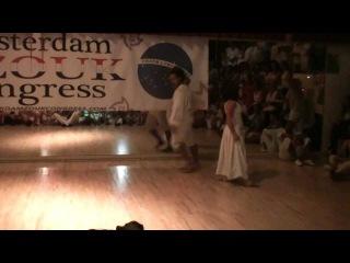 Show Xandy Liberato & Irene Ballester @ Amsterdam Zouk Congress