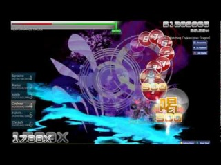 [osu!] Cookiezi playing Dragonforce - Through the Fire and Flames [Legend]