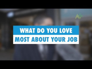 Learn English: What do you love most about your job? - Australia Plus