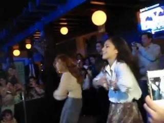 Bella & Zendaya's performance in Abu Dhabi ( March 29th 2012 )