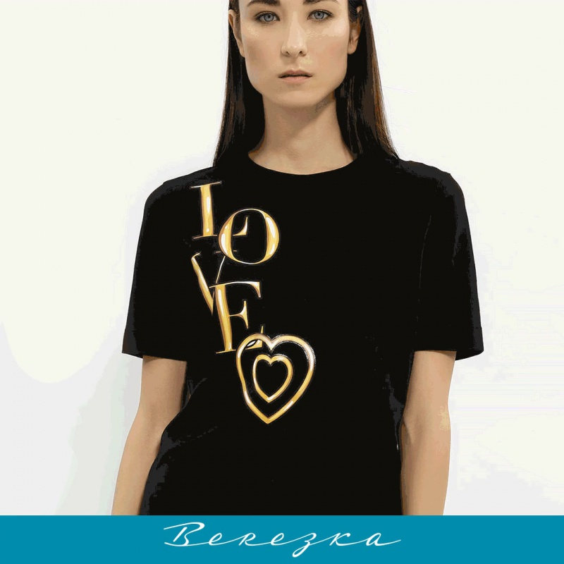 Приталенная футболка Love Moschino