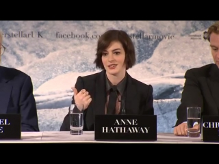 Interstellar Interviews - Christopher Nolan, Matthew McConaughey, Anne Hathaway, Jessica Chastain
