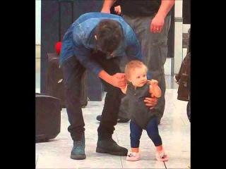 Zayn Malik with Baby Lux 2