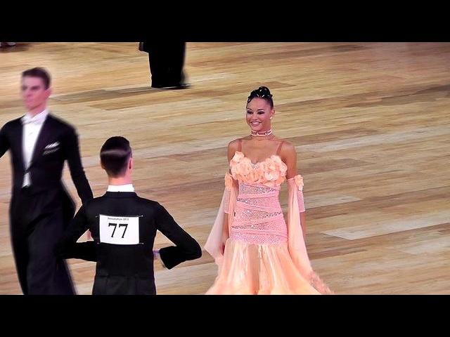Вадим Шурин и Анастасия Мешкова - Медленный фокстрот (Танцфорум 2012, полуфинал)