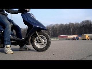 Скутер после зимы, подготовка к сезону \ Scooter after winter