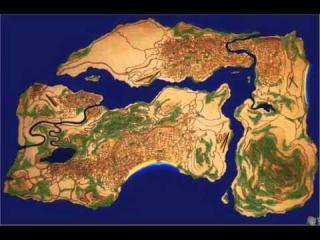 GTA V Nuevo Supuesto Mapa Filtrado - Analizandolo - por Loquendo4Life