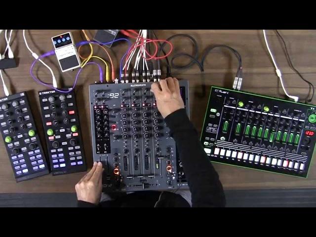 Advanced Dj Routing Analogue Mixers Guitar Pedals and External Soundcards