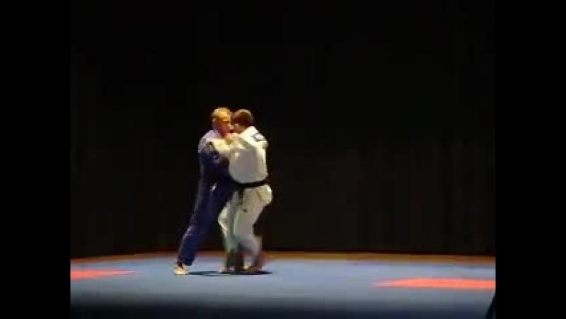 Judo presentation in da Griže