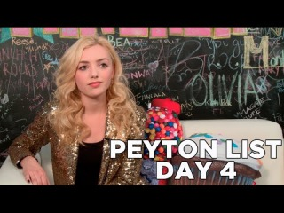 Peyton List's First Crush! 10 Days of Peyton List, Day 4