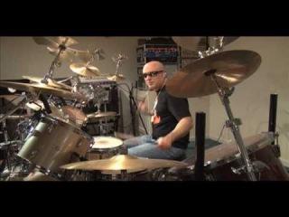 The Prodigy Firestarter drum cover remix (Allen Brunelle)