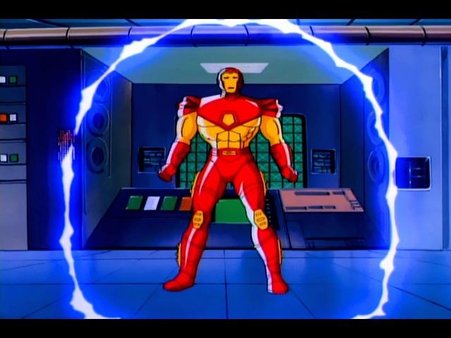 Железный человек 1 сезон 1994