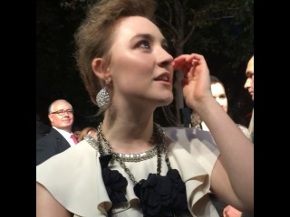 on Instagram: Listen up, Broadway: #SaoirseRonan would like to do an original musical! #Brooklyn  Full interview here: