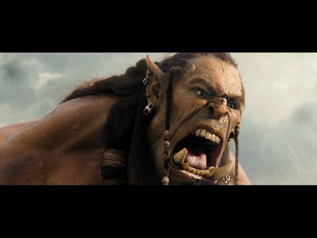 Warcraft Chieftain Durotan vs Gul'Dan fight scene