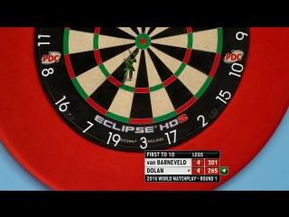 Raymond van Barneveld v Brendan Dolan (PDC World Matchplay 2016 / Round 1)