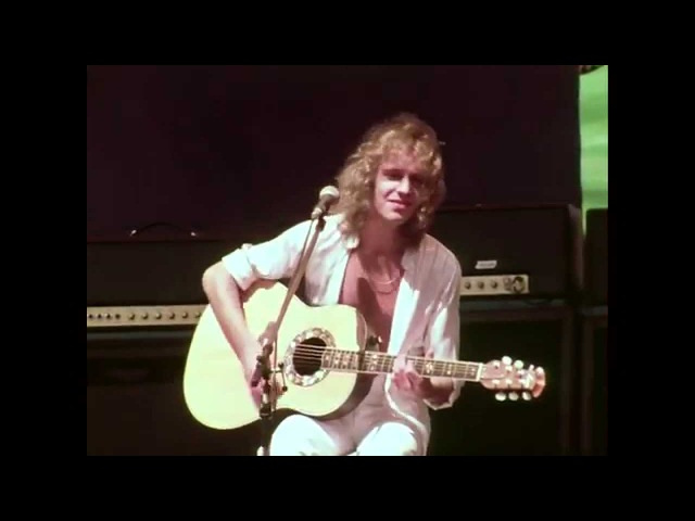 Peter Frampton Baby I Love Your Way 7 2 1977 Oakland Coliseum Stadium Official