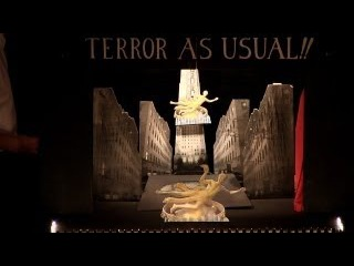 Toy Theater of Terror As Usual, Whistles & Leaks by Great Small Works June 15 @ 2013 Toy Theater