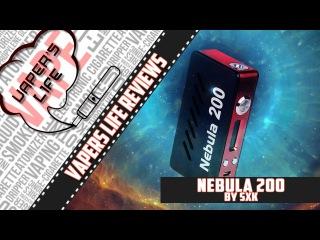 Обзор боксмода SXK Nebula 200W TC. Могли сделать лучше...
