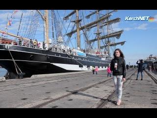 В Керчи открыли секреты легендарного парусника «Крузенштерн» (ВИДЕО)