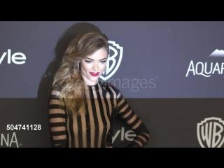 10 января 2016: Вечеринка журнала «InStyle» после церемонии вручения премии «Золотой глобус» в Лос-Анджелесе.