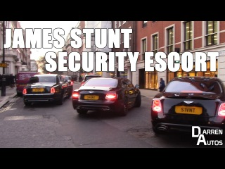 James Stunt INSANE Security Escort
