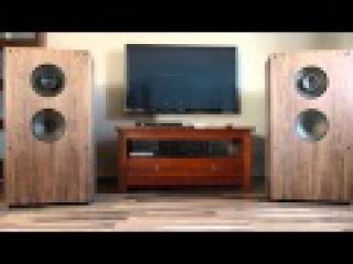 Saba open back Speakers DIY & TA2020 tripath Mini-1