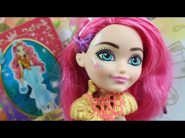 Ever After High - Bajkowi Uczniowie - Syrenka Meshell Meeshell LMer Doll - DKR23 DHF96