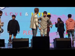 [FANCAM] [160424] Seventeen @ 1st Full Album Showcase rehearsal
