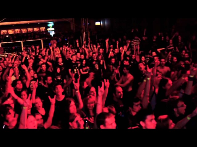 LYFTHRASYR Rage Towards Apathy Live in Kiev 2011 Symphonic Black Death Metal Germany