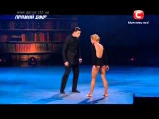 Вова Раков и Яна Заяц (Петрова) - Танцуют Все 7 - Первый Прямой Эфир ()
