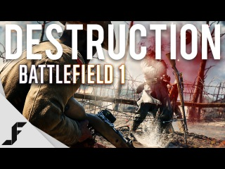 How much destruction is there in Battlefield 1?