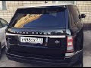 Давидыч едет на своем Range Rover Vogue