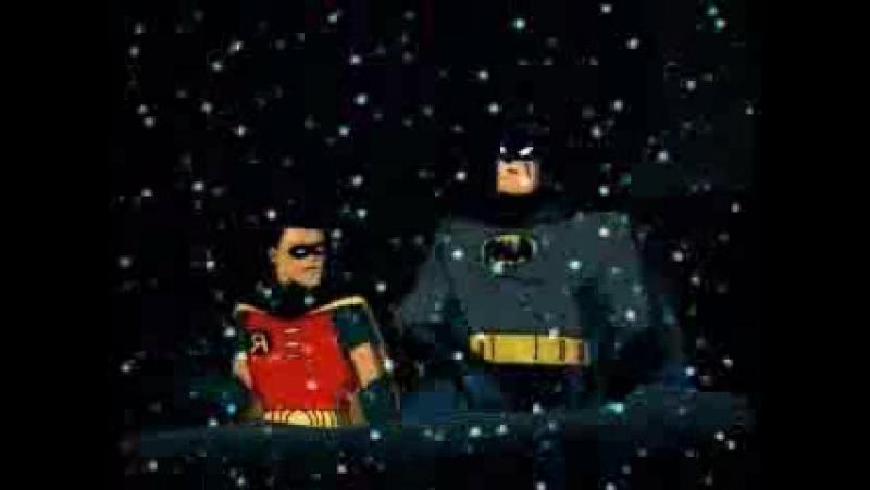 Batman Navidad con el Guason