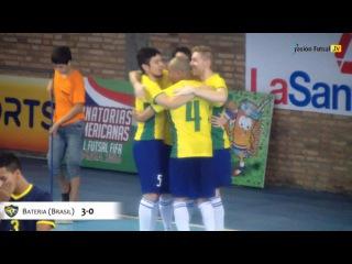 Pasión Futsal TV: Brasil 14-Ecuador 0 (Eliminatorias 2016-Grupo A-Fecha 4)