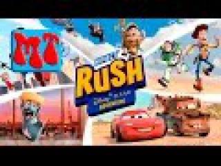 ИГРА в РАТАТУЙ и ГОНКИ на иксбокс 360 kinect rush disney pixar xbox 360 #492