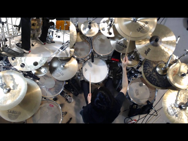 SikTh Pussyfoot Drum Cover