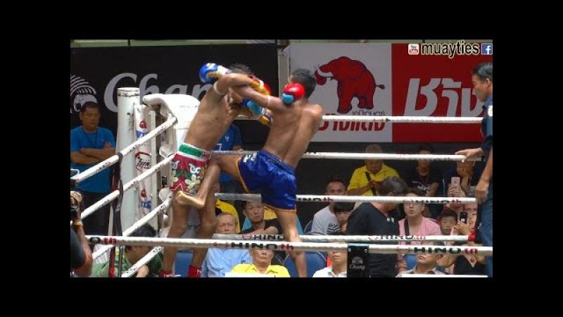Muay Thai -Rungkao vs Klasuek (หรั่งขาว vs กล้าศึก), Lumpini Stadium, Bangkok, 10.6.16
