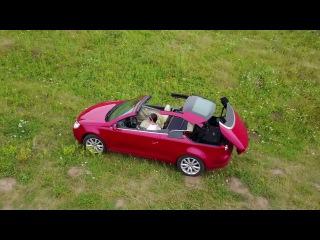 Volkswagen Eos работа складной крыши