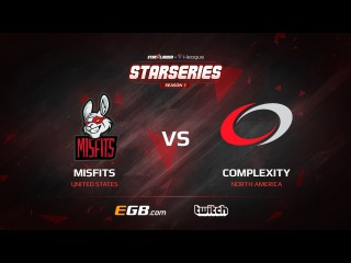 Misfits vs compLexity, map 3 inferno, SL i-League StarSeries Season 3 NA Qualifier