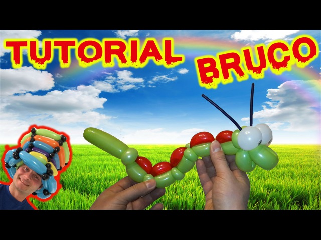 PALLONCINI MODELLABILI tutorial 22 BRUCO Balloon Twisting