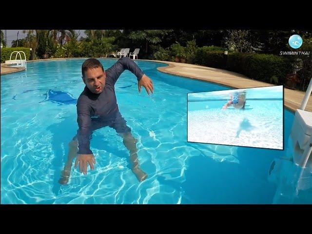 Техника плавания кролем как же правильно заводить кисти в воду Полезный прием
