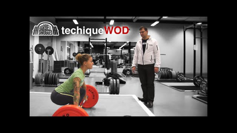 Anders Lindsjo Coaching the Snatch w Christmas Abbott TechniqueWOD