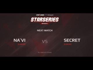 Na'Vi против Secret. SL i-League Season 3.