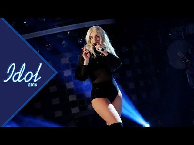 Bebe Rexha I Got You Live Idol Sverige in Swedish Idol TV4