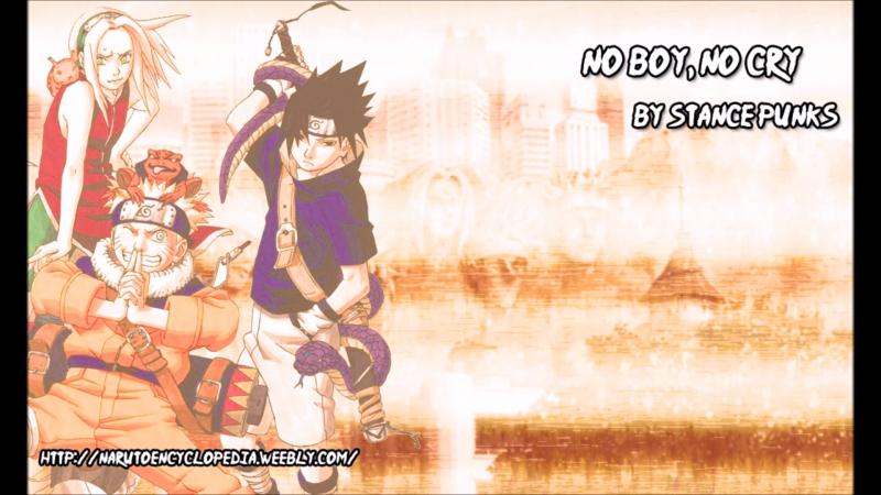No Boy No Cry 6eme opening de Naruto