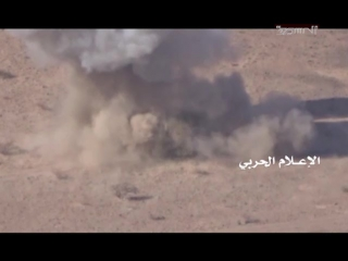 хуситы птурят в Мариб, Йемен.18_10_2017